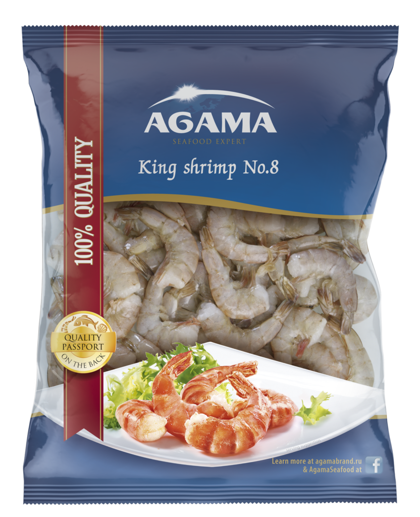 King shrimp No. 8 BBQ season